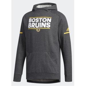 adidas NHL Boston Bruins Squad Pullover Hoodie L